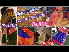 Pure Handloom Uppada pattu & Cotton sarees with Best Price & courier available - YouTube Durga, Cotton Saree, Sarees, Crochet Necklace, Blouses, Pure Products, Youtube, Blouse, Woman Shirt