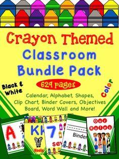 Crayon Themed Classr