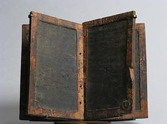 Wooden writing tablets, byzantine Egypt, 500-700, MET