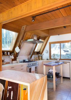 Feel The Heat - This Hollywood Hills A-Frame Home Is Magical - Photos