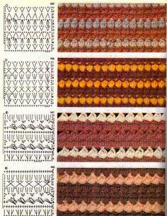 Crochet by Jane Crochet Stitches Chart, Crochet Motif Patterns, Crochet Diagram, Knitting Patterns, Crochet Coat, Crochet Jacket, Diy Crochet, Crochet Clothes, Vanessa Montoro