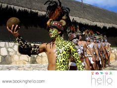 VIAJES EN PAREJA. La zona de Cancún y la Riviera Maya, es famosa por sus atractivos naturales y parques temáticos donde se reviven las tradiciones mayas y se cuenta su historia a través de espectáculos increíbles. En Booking Hello, te invitamos a considerar hacer una visita a uno de ellos para que junto con tu pareja, conozcan más sobre este destino y queden sorprendidos con toda su riqueza cultural. #BeHello