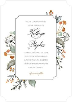 Looking for some fun and creative invitations for your rustic wedding? We have 32 Rustic Wedding Invitations that are sure to inspire you! Wedding Invitation Inspiration, Wedding Invitation Design, Wedding Stationary, Bridal Shower Invitations, Rustic Invitations, Autumn Wedding Invitations, Faire Part Invitation, Invitation Cards, Invites