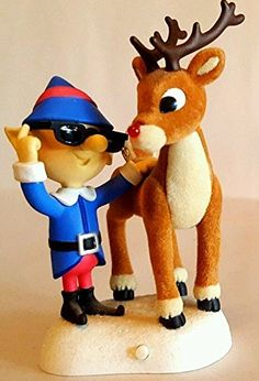 Rudolph The Red Nosed Reindeer NOSE SO BRIGHT Light-Up Keepsake Ornament (2006)