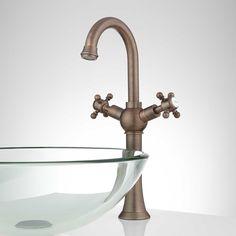Pfister GT40-YP0 Ashfield Waterfall Bathroom Vessel Faucet ...