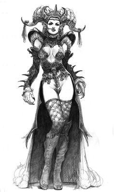 La reina de Warworld.