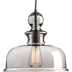 Staunton Collection 1-light Graphite Pendant