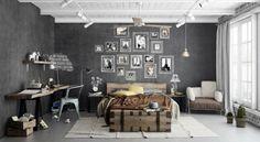 Originale e contemporaneo: il cemento nella decorazione d'interni
