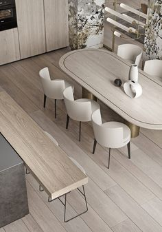 69 Latest Modern Style Dining Table Design Ideas – New Avsa Restaurant Marble Interior, Home Interior, Modern Interior, Interior Architecture, Modern Decor, Luxury Interior, Small Luxury Bathrooms, Small Bathroom, Küchen Design