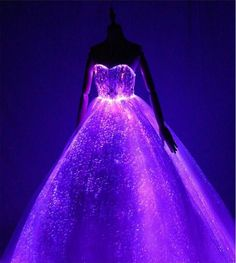 Load image into Gallery viewer, New Elegant Electronic Sparkle wedding Dress Creative Formal dress Dancing Performance wedding Dresses Cute Prom Dresses, Wedding Party Dresses, Ball Dresses, Pretty Dresses, Beautiful Dresses, Ball Gowns, Girls Dresses, Formal Dresses, Dresses Dresses