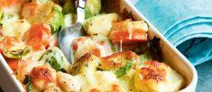 Potato Salad, Shrimp, Potatoes, Meat, Ethnic Recipes, Food, Potato, Essen, Meals