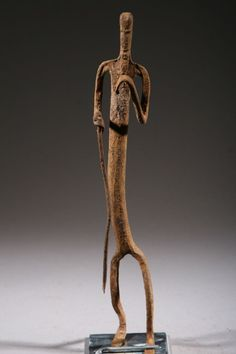 Africa | Statue from the Dogon people of Mali | Iron | ca. mid 1900s