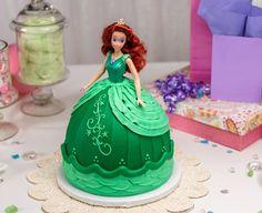 How-To Make a Disney Princess Cinderella Doll Cake - Cakes.com