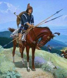 Thracian horseman, 2nd cent B.C.