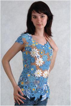 Art Threads: Friday Inspiration - Motif Crochet