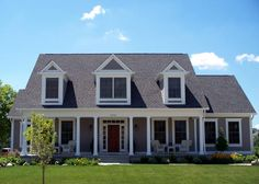 Elevation of Cape Cod   House Plan 56625