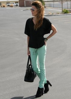 Those mint jeans get me every time