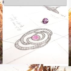 🌸🖌 We love getting creative for you! This beautifully designed 18ct statement rose ring holds a 1.27ct pink sapphire sparkling with 1.60ct in diamonds. ✨ #wyldecouture ⠀ (Currently welcoming you in-store by appointment) www.nicholaswylde.com