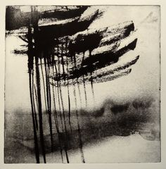 Les pins by Philippe Chesneau - Héliogravure Not toxic engraving - tirage print vieille Hollande H L 20 x 20 cm