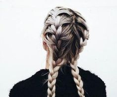 #braids #blondehair