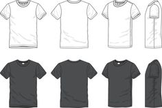 Billedresultat for t shirt technical drawing