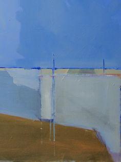 Steven Heffer , Newhaven Harbour oil on canvas 2015 on ArtStack #steven-heffer…
