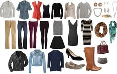 Build 30 fall outfits from 30 pieces