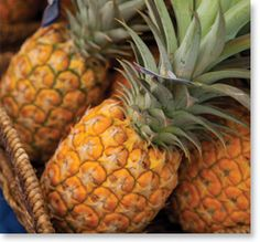 Who can resist the tropical taste and sweet juice from a pineapple?