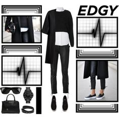 """""""Edgy"""" by anna-anica on Polyvore"""