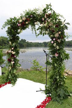 #wedding #mariage #arche #fleurs #flowers