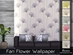 Sims 4 CC's - The Best: Wallpapers by Rirann