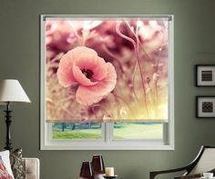 Jaluzea tip rulou Vintage Poppy cm - Vivre. Vintage, Frame, Decor Ideas, Painting, Home Decor, Art, Rolo, Picture Frame, Art Background