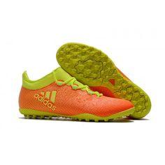 8bcc3c50e1 обувь мужская Adidas X 17.1 TF желтый оранжевый Chuteiras