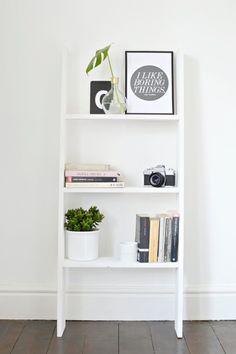 burkatron.: DIY | ladder shelf