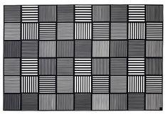 Rosendahl - Platzdeckchen, 2 Stck., schwarz, 30x45 cm #rosendahl