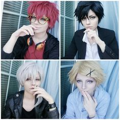 Somebody already displayed all the mystic messenger guys!