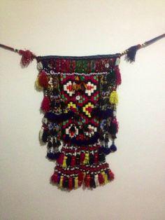 old bag old tassel uzbek bag accessories bag uzbek by akcaturkmen, $350.00