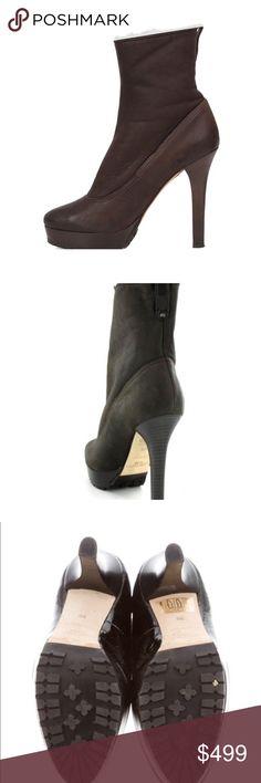 fba61e575b18 Spotted while shopping on Poshmark  JIMMY CHOO TRIXIE NAPPA SHEARLING  BOOTIE💗!  poshmark  fashion  shopping  style  Jimmy Choo  Shoes