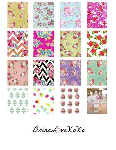 A few of my favorite things – Erin Condren square printable stickers   BrinaLoveXoXo