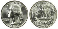 Washington Quarters Silver Composition US Coin