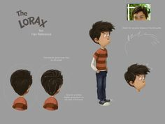 Character Design Collection: Hair - Daily Art, references