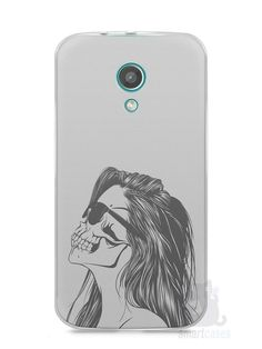 Capa Moto G2 Mulher Caveira - SmartCases - Acessórios para celulares e tablets :)