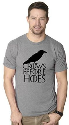 Junior Let It Snow Swords Crow TV Series White Christmas Funny DT T-Shirt Tee