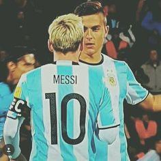 Mi sueño era tirar una pared con Messi y lo pude cumplir -Paulo Dybala-