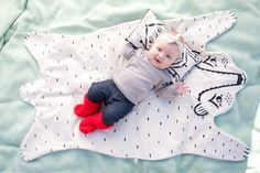 Every kiddo needs a cozy bear blanket!