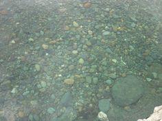 Beauty Stones under water.