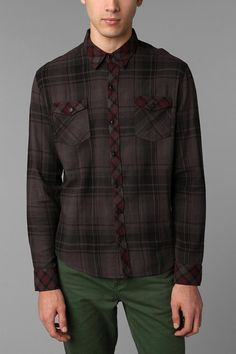 The Narrows Flannel Workshirt  #UrbanOutfitters, $20