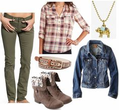 Looks from Books: The Maze Runner | College Fashion