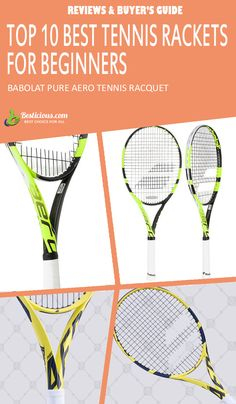 Best Tennis Rackets for Beginners Ultimate List (March) Best Tennis Racquet, Head Tennis, Muscle Power, Buyers Guide, Rackets, How To Stay Healthy, Pure Products, Sporty, Female