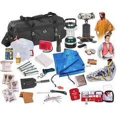 Stansport Hurricane/Earthquake/Flood Emergency Preparedness Kit, 50-Piece -- I need this!